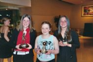 Team Silverware goes to Mairi, Jackie & Kirsty - Awards Night 2004